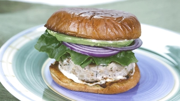 Herbed Chicken Burger with Remoulade: Part 2