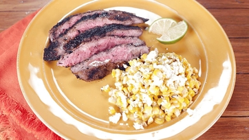Chili-Lime Mexican Corn and Flank Steak: Part 2