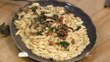 Cavatelli with Spinach and Prosciutto: Part 2