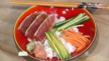 Seared Tuna Rice Bowl: Part 1