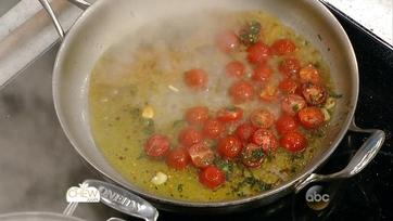 Spaghetti with Fresh Tomatoes, Mozzarella and Basil: Part 1
