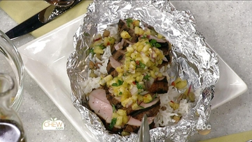 Jerk Pork with Pineapple Salsa and Coconut Rice: Part 2