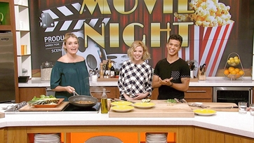 "Seacat and Lela of ""Teen Beach Movie 2"" on The Chew"