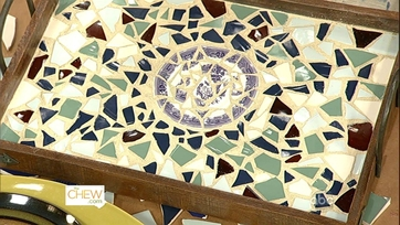 Clinton\'s Craft Corner - Mosaic Trays