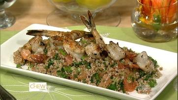 Grilled Shrimp with Grapefruit Salad Part 1