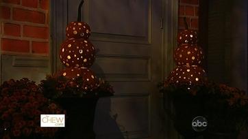 Pumpkin Topiaries: Part 1
