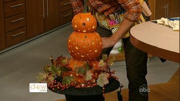 Pumpkin Topiaries: Part 2