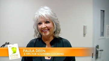 Behind the Scenes with Paula Deen!