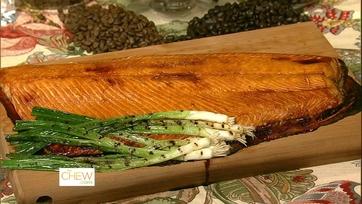 Michael\'s Cedar Plank Salmon