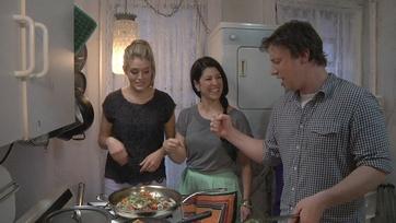 Behind the Scenes: Jamie Oliver Fridge Raid!