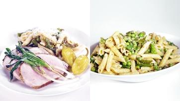 Arista Toscana & Penne Pasta with Asparagus: Part 2