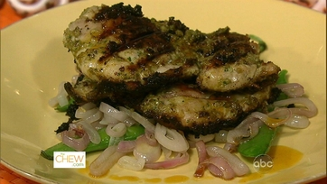 Chicken Thighs with Snap Peas