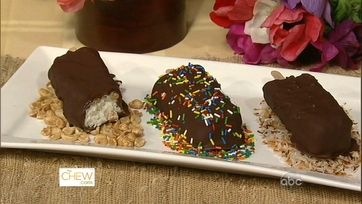 Carla and Clinton\'s Chocolate Ice Cream Pops