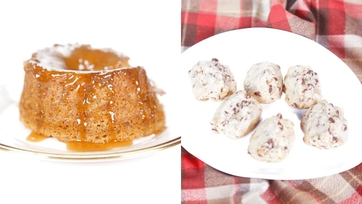 Carla Hall\'s Sticky Toffee Pudding   Chocolate-Walnut Cookies