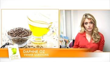 Daphne\'s Tip: Fiber for Baked Goods!