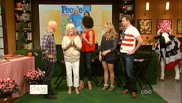 Paula Deen Surprises The Chew Crew