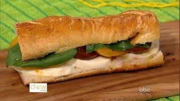 Mario\'s Caprese Sandwiches