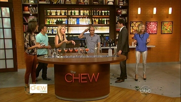 The Chew Crew Tries Out Their Bartending Skills
