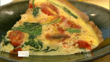 Michael\'s Proscuitto Tomato Frittata!