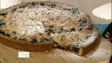 Blueberry Coconut Tart!