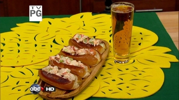 Mario\'s Lobster Roll And Summer Shandy