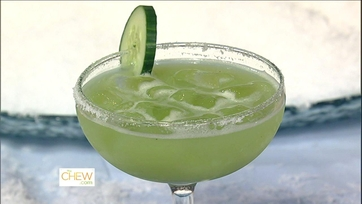 Clinton\'s Cucumber Honeydew Margarita!