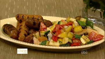 Michael\'s Grilled Sausage with Vegetables!