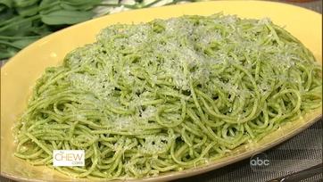 Mario\'s Spaghetti with Green Tomatoes!