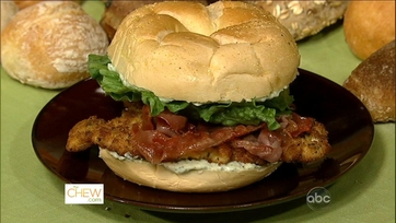 Nadia G\'s Saltimbocca Chicken Club Sandwich!