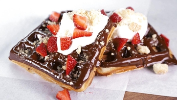 Waffles and Things Recipe by Carla Hall: Part 1
