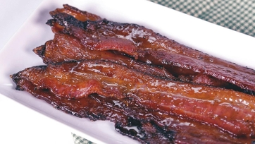Sticky Sweet Bacon Recipe by Daphne Oz