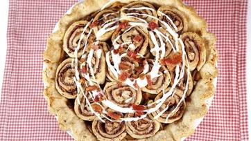 Cinna-Bacon Pie Recipe by Carla Hall