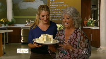 Paula Deen Brings the Butter to The Chew