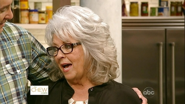 The Chew Rolls Out The Red Carpet for Paula Deen