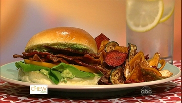 Mario\'s BLT with Celery Root Chips!