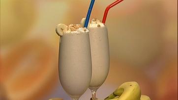 Carla\'s Banana and Vanilla Milk Shake!