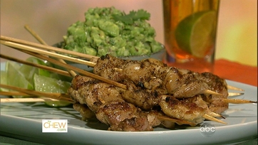 Dish of the Day: Jalapeno Chicken Skewers