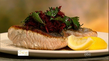 Dish of the Day: Salmon with Beets