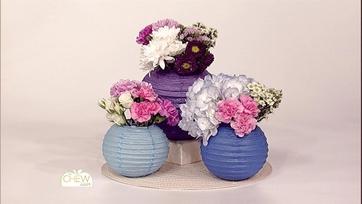 Paper Lantern Vases: Clinton\'s Crafts