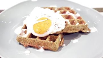 Falafel Waffle Recipe by Carla Hall