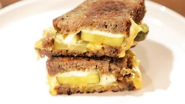 Cheesy Pickle Sandwiches Recipe by Daphne Oz