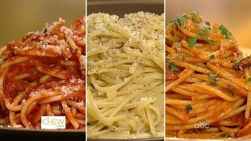Dish of the Day: Pasta 3 Ways