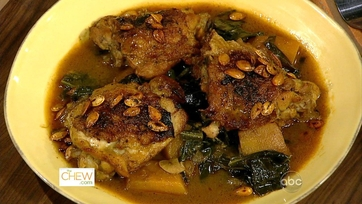 Dish of the Day: Braised Chicken and Pumpkin