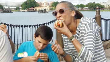 Epcot Eats with Carla and One Lucky Family