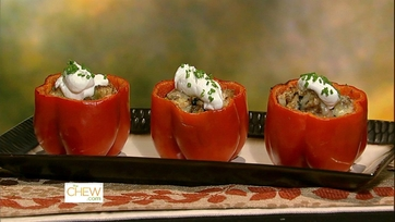 Daphne\'s Stuffing Stuffed Peppers