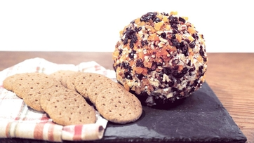 Autumnal Cheese Ball Recipe by Clinton Kelly