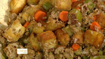 The Chew\'s Thanksgiving Stuffing