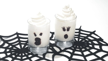 Thrilling and Chilling Ghost Shakes Recipe by Clinton Kelly