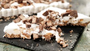 Crazy Candy Ice Cream Tart Recipe by Carla Hall
