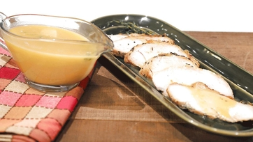 Turkey Pan Gravy Recipe by Michael Symon